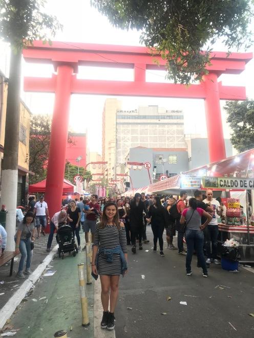 Arco do bairro da Liberdade