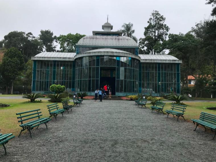 Fachada do Palácio de Cristal