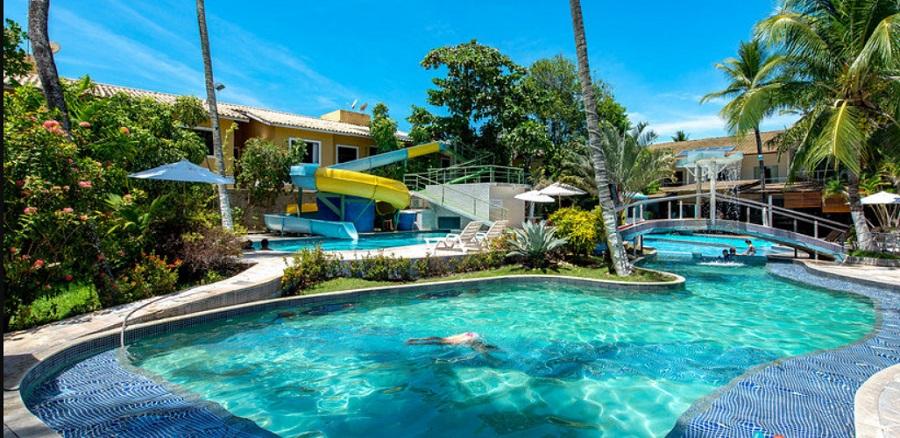 Resort Pau Brasil e o Parque Aquático