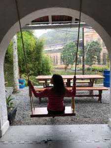 Elisa do Viajandinhas no Um Hostel