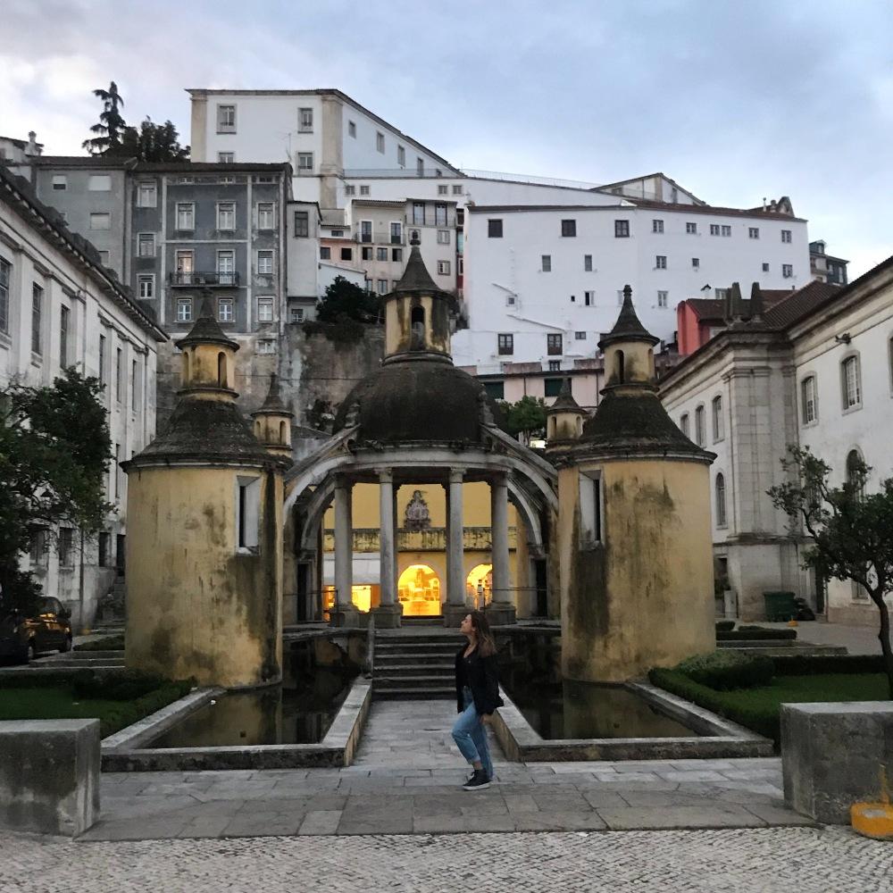 Viajandinha em Coimbra numa manhã de sábado