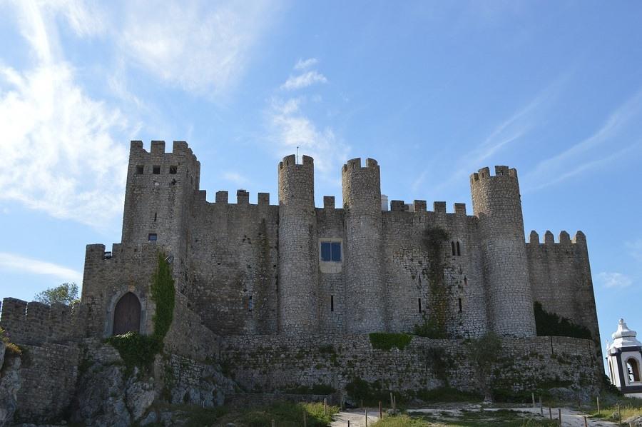 Castelos de Óbidos cidade portuguesa