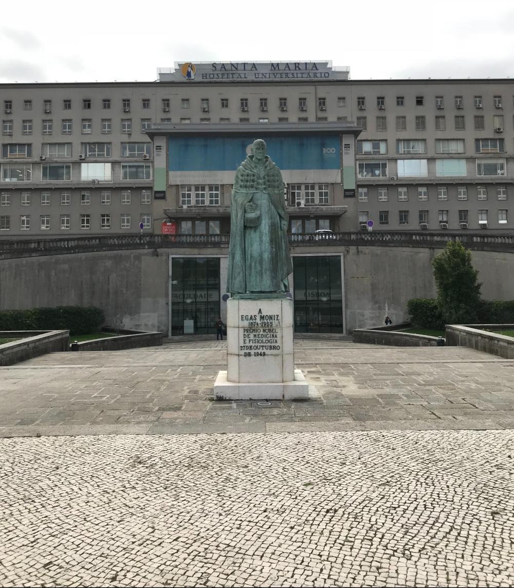 Integração de hospital e faculdade santa Maria em Lisboa