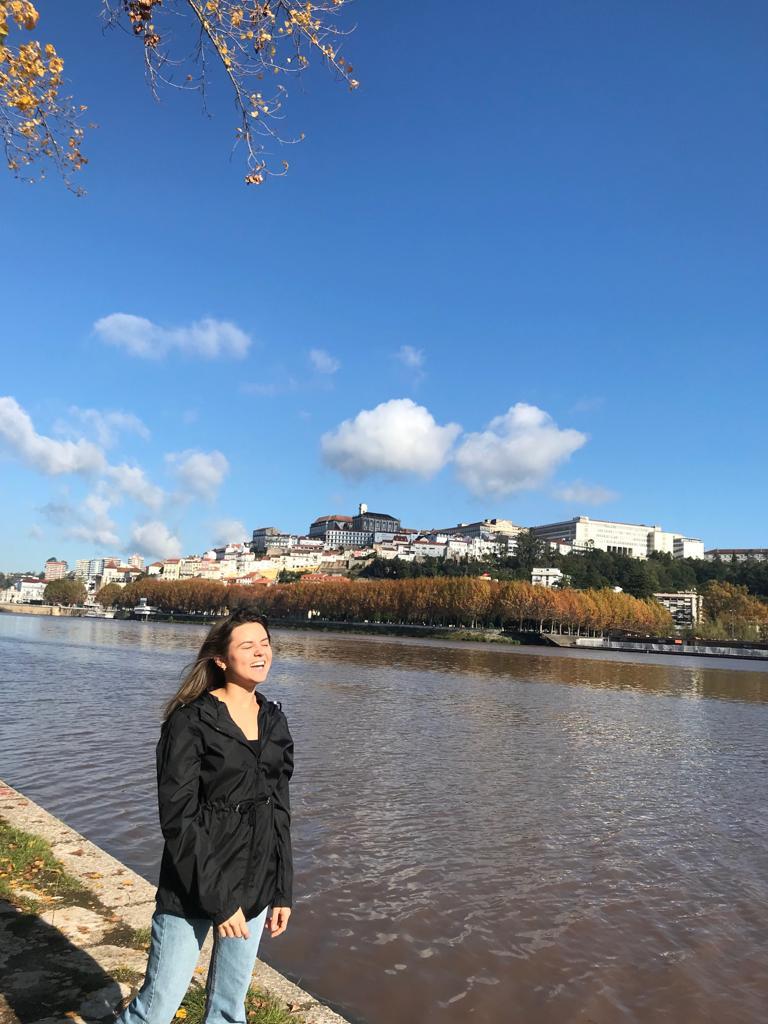 Vista da Universidade de Coimbra e Viajandinha