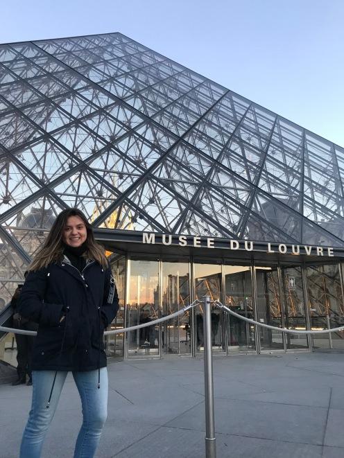 Entrad do Musee du Louvre
