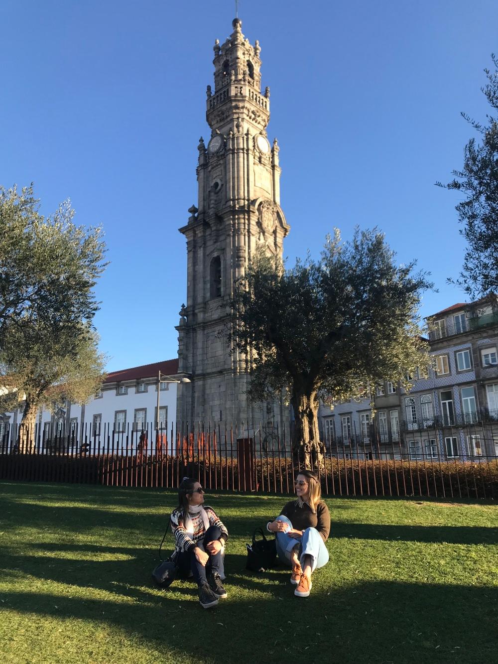 Vista da Torre dos Clérigos no Porto