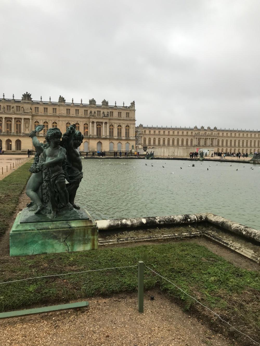 Fontes do Jardim de Versalhes