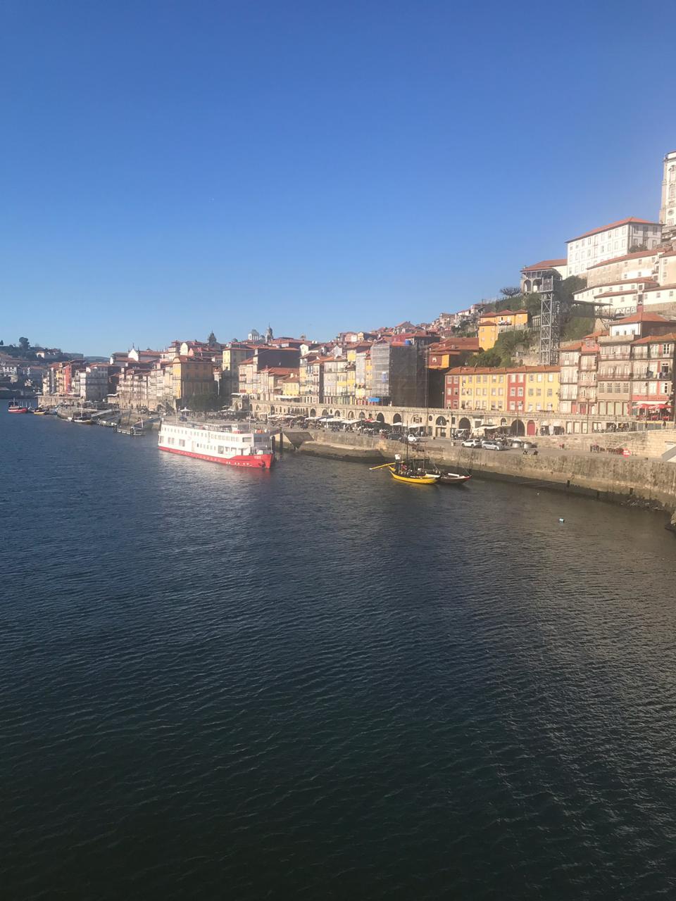 Cidade do Porto em Portugal vista do alto