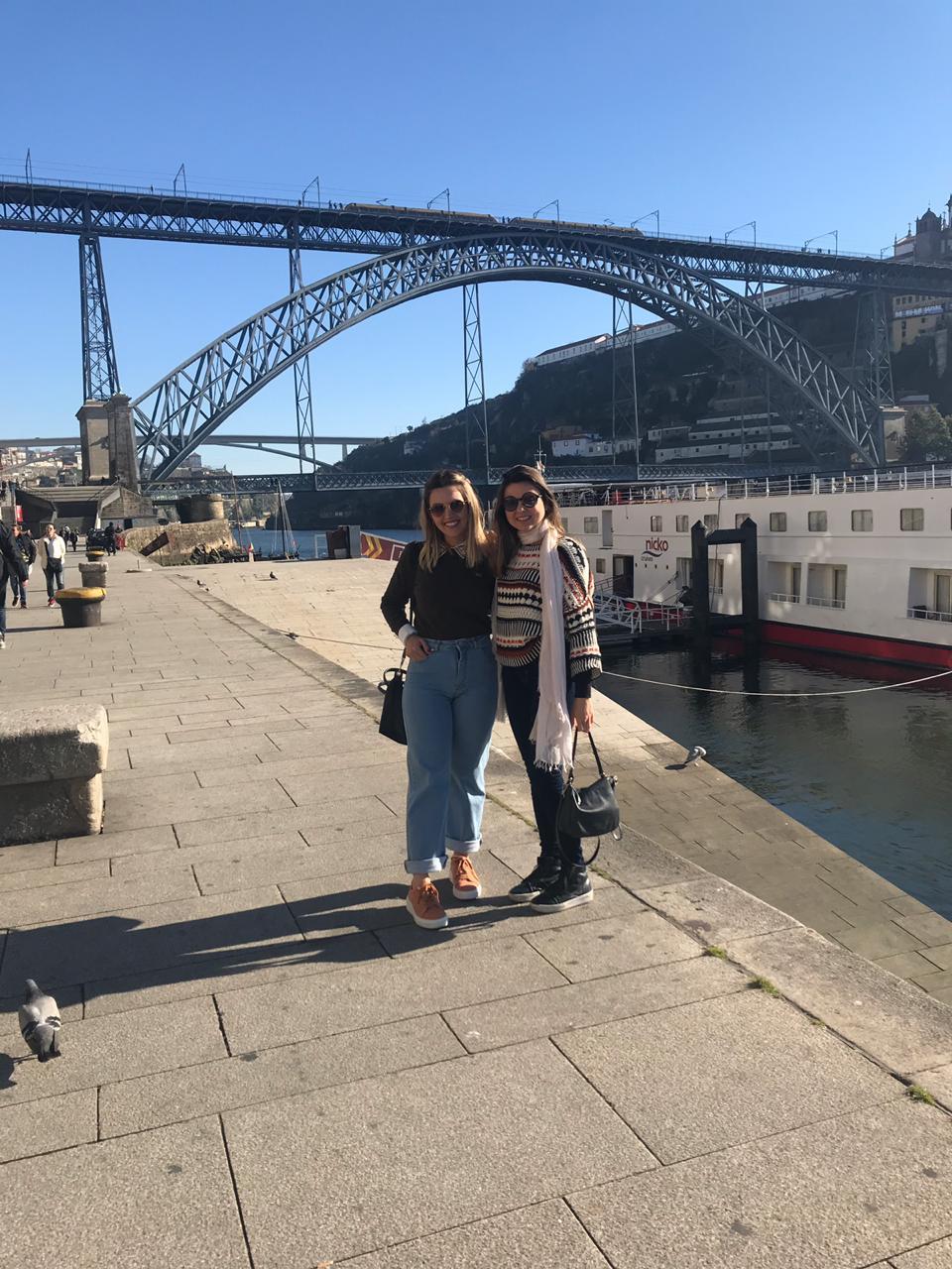 Viajandinhas na Ribeira do Porto em Portugal
