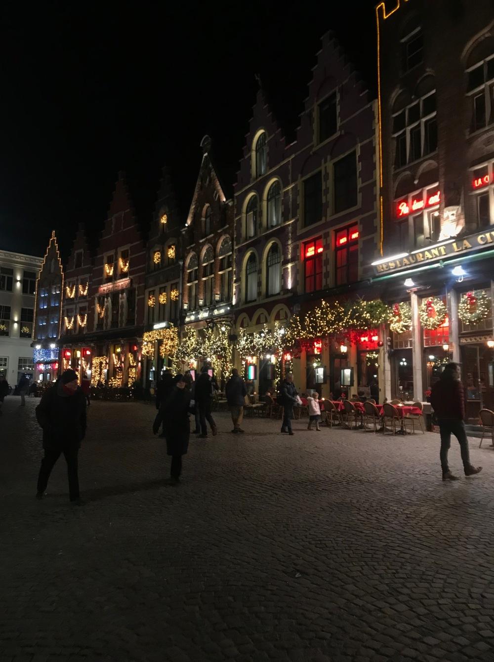 Bruges na época de Natal