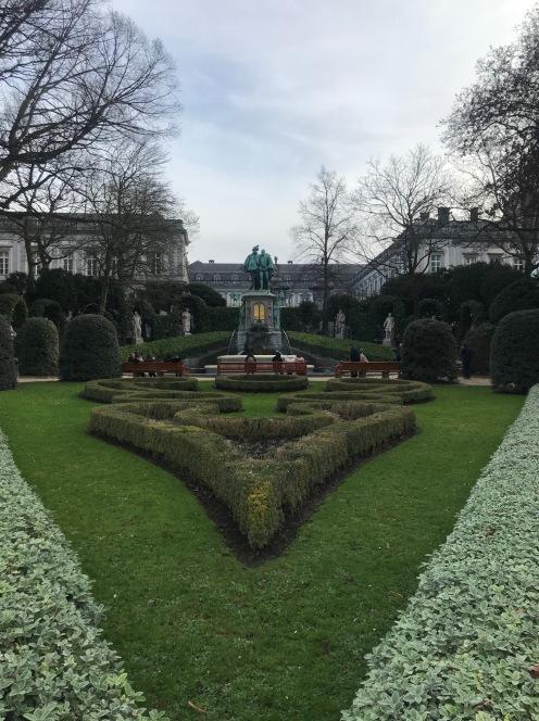 O Jardim de Sablon em Bruxelas