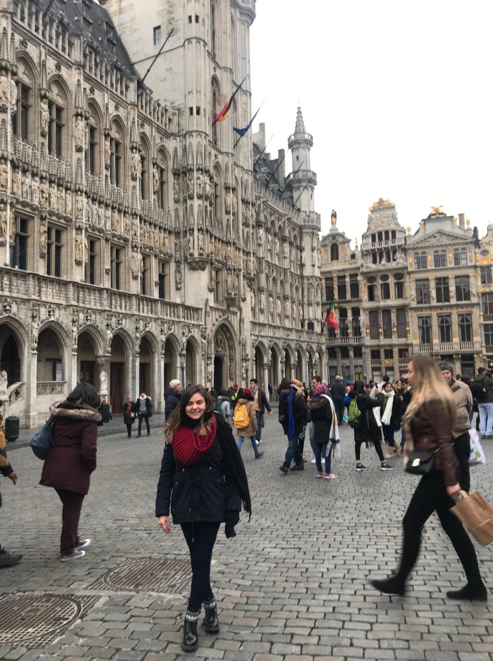 Bruxelas e a Grande Place