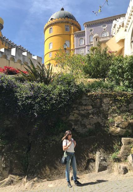 Viajandinhas no Palácio Nacional da Pena