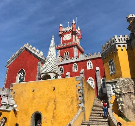 Sintra e o Palácio Nacional da Pena