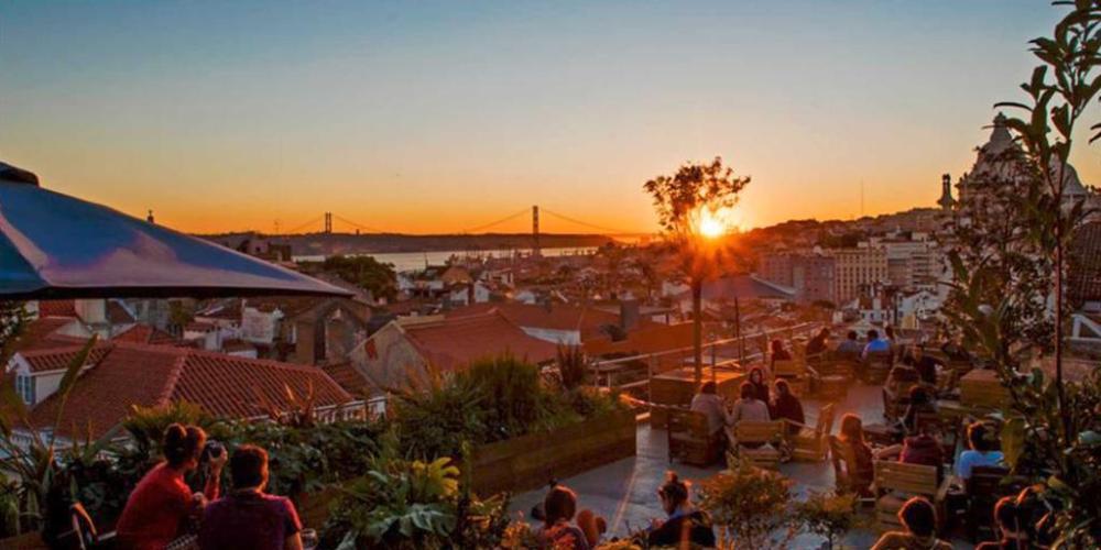 Melhor pôr do sol de Lisboa