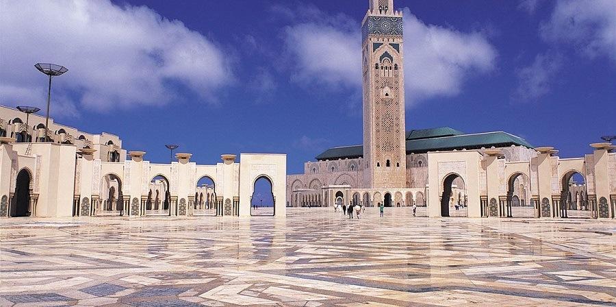 Casablanca em Marrocos