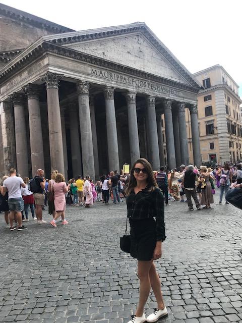 Viajandinhas no Panteão de Roma