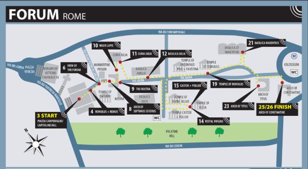 O que visitar no Fórum Romano